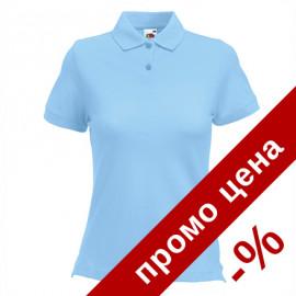 Дамска тениска/поло с яка