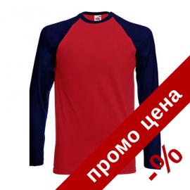 Мъжка класическа тениска/блуза с дълъг ръкав в два цвята