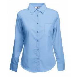 Официална дамска риза с дълъг ръкав