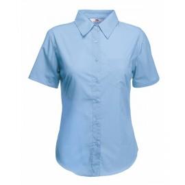 Официална дамска риза с къс ръкав