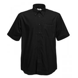 Класическа риза с къс ръкав (Oxford)