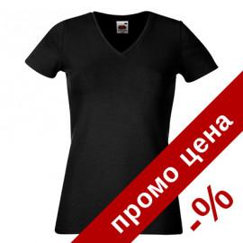 Дамска тениска с остро деколте